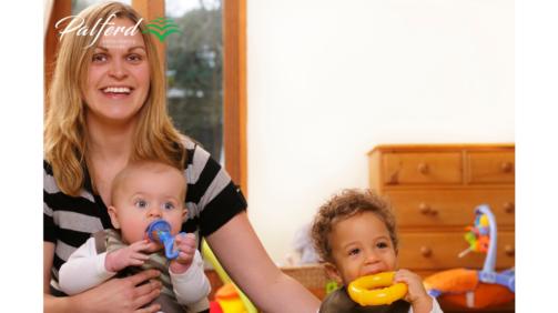 پرستار کودکان در انگلستان